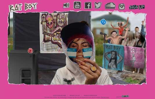 Ratboy homepage