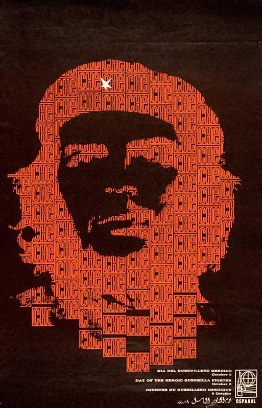 Typography Che Guevara image