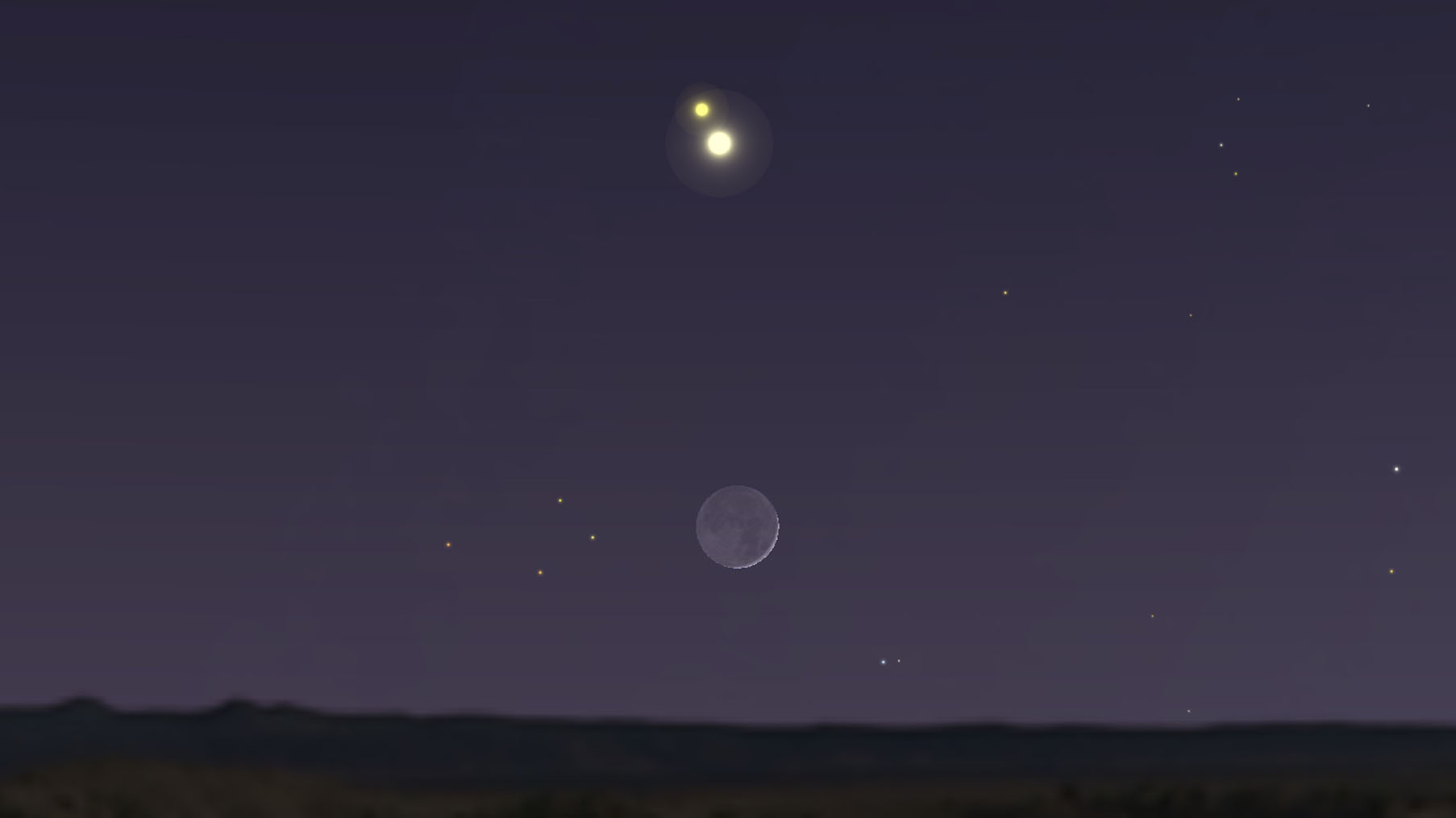 The Great Conjunction Pictures