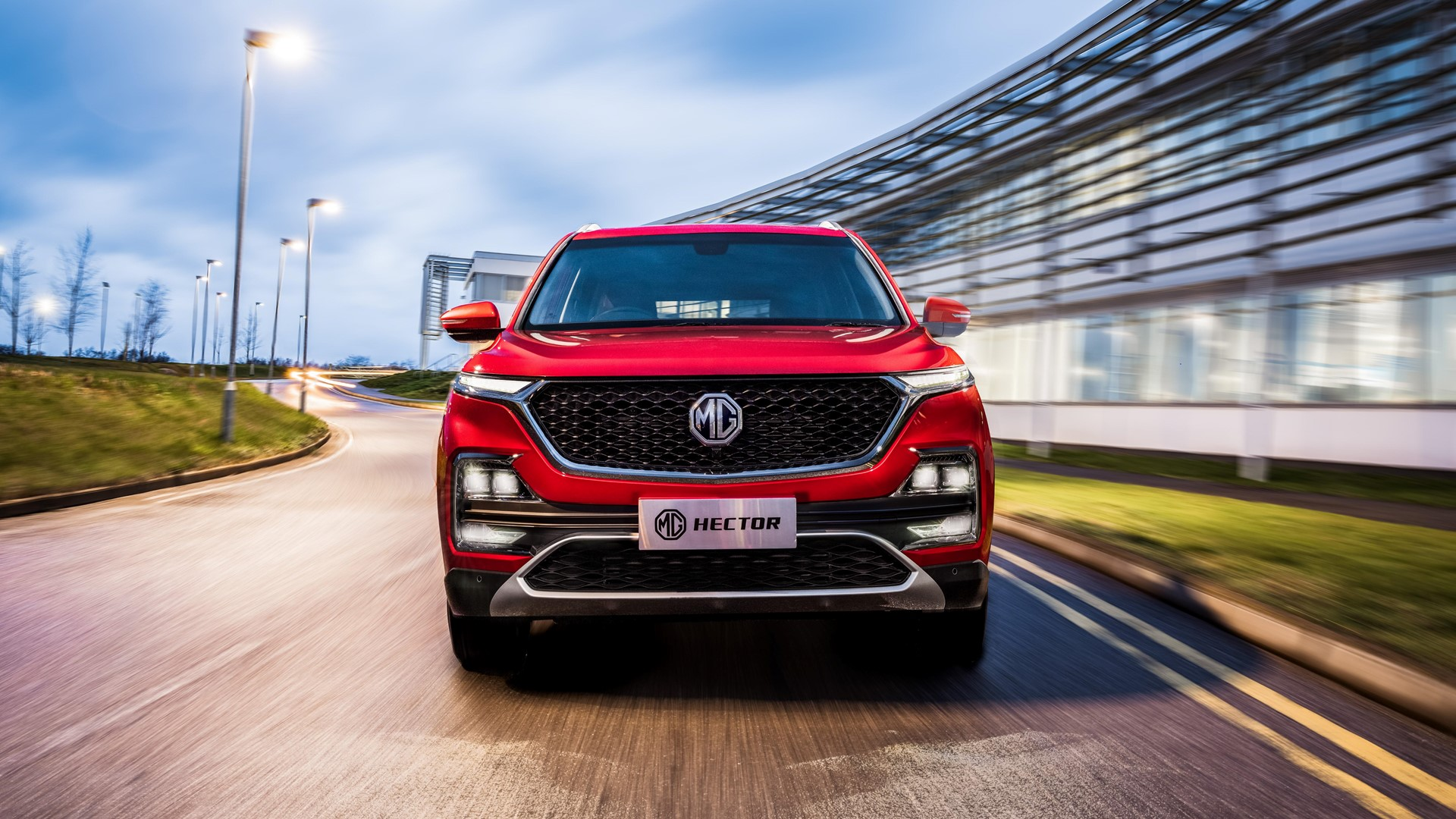 MG Motor teases the launch of MG Hector Internet car; unveils iSMART infotainment system in India 3