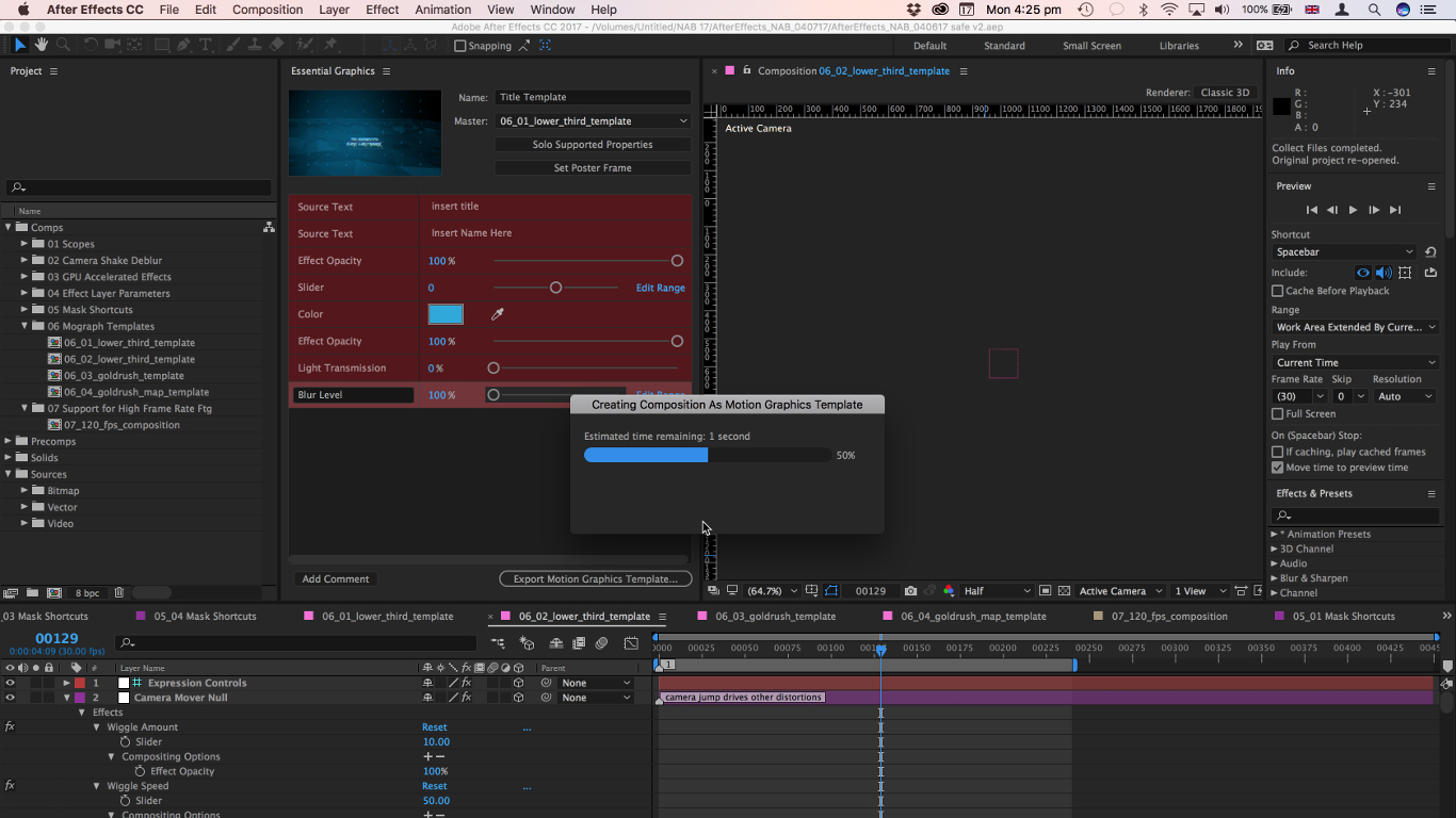 Adobe After Effects CC CreamerDesignscom - After effects list template