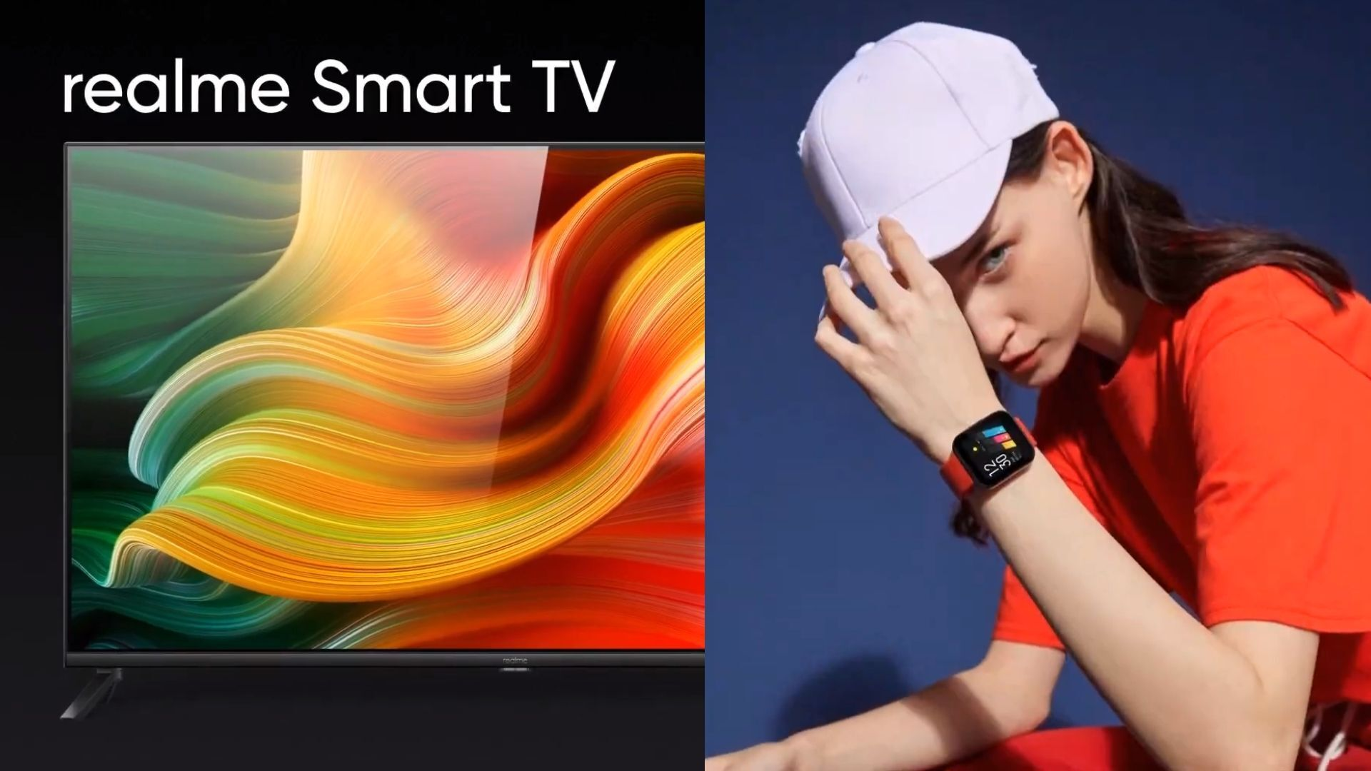 Realme Smart TV and Smartwatch make their global debut in India
