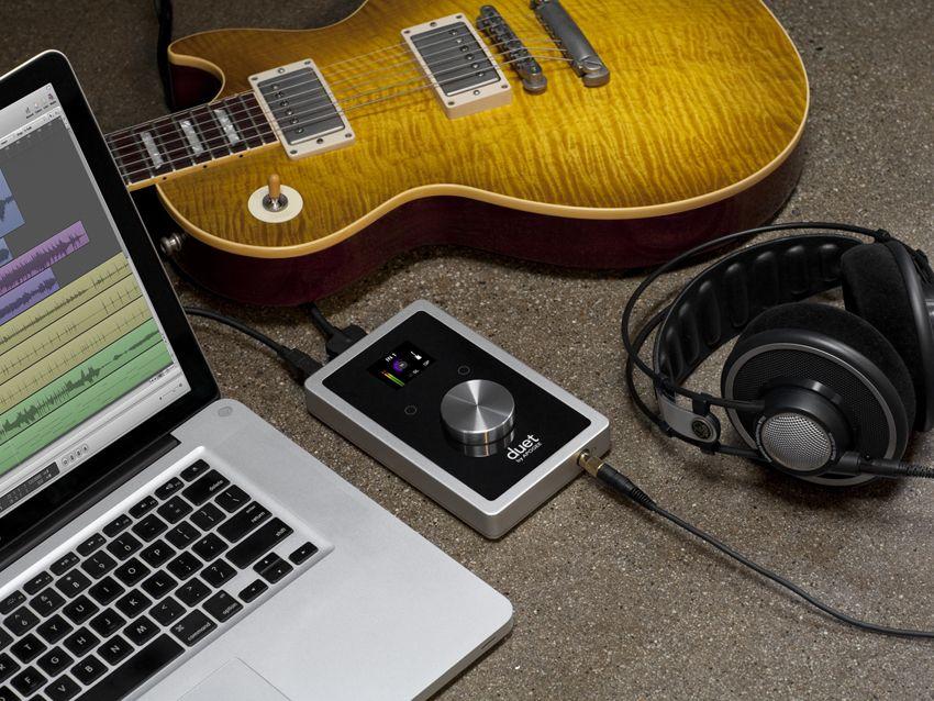 apogee duet 2 the slickest audio interface ever musicradar. Black Bedroom Furniture Sets. Home Design Ideas