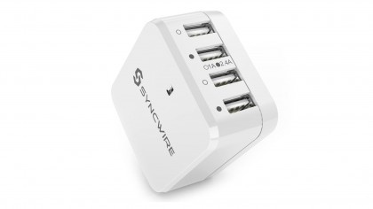 syncwire 4-port USB wall cahrger