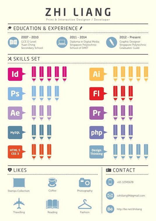 Best infographics: resume