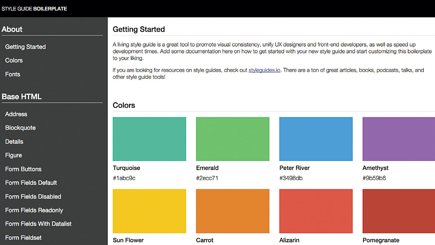 Speed up your web workflow with style guides - Brett Jankford