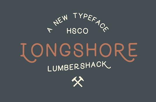 Longshore font