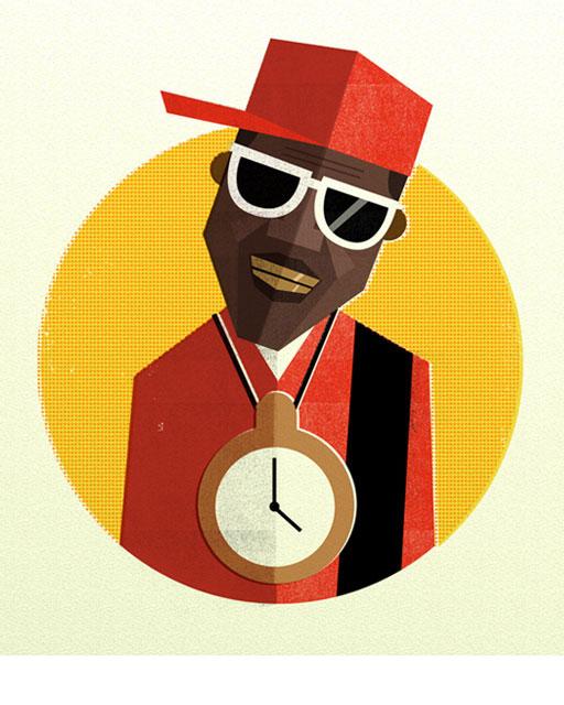 DEM Illustration - Hip Hop Heads