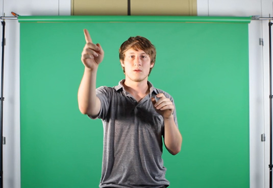 How to green screen: your screen color