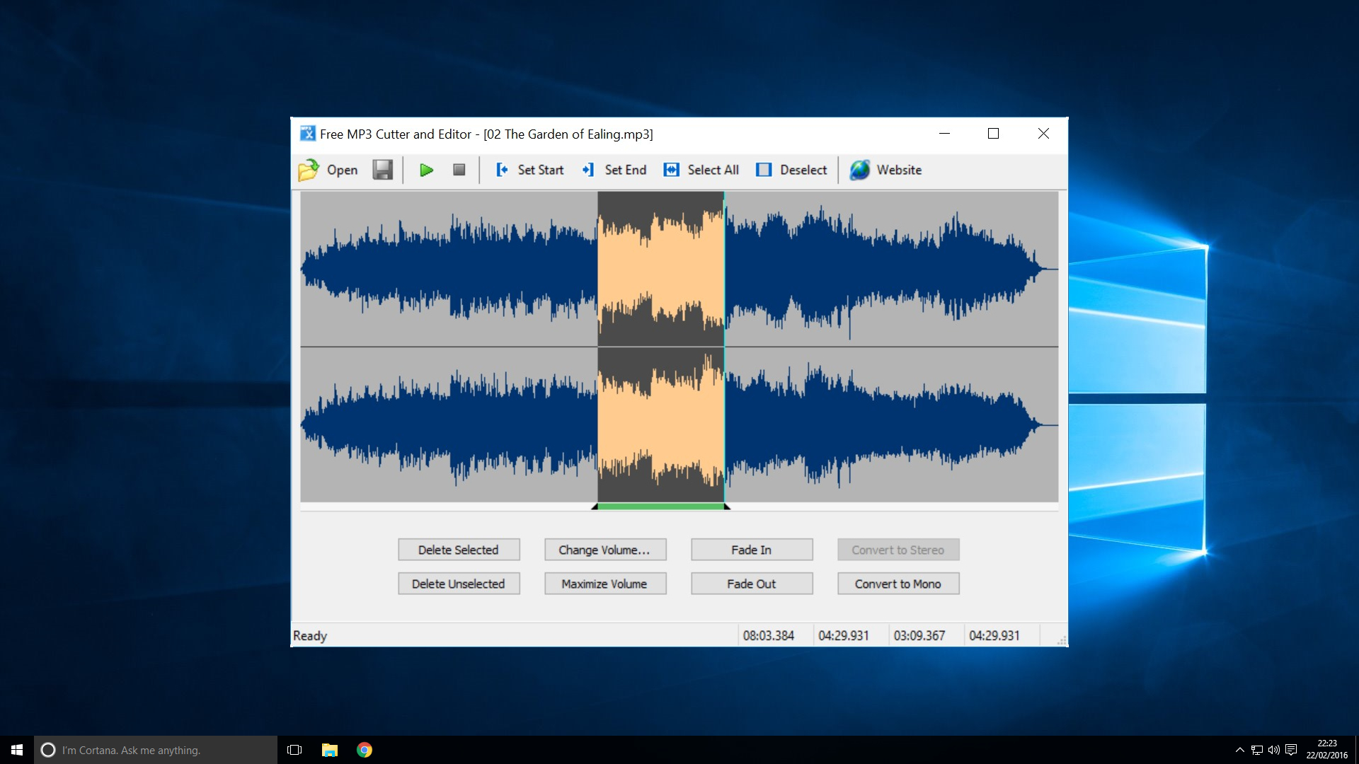 Mp3 editor download free