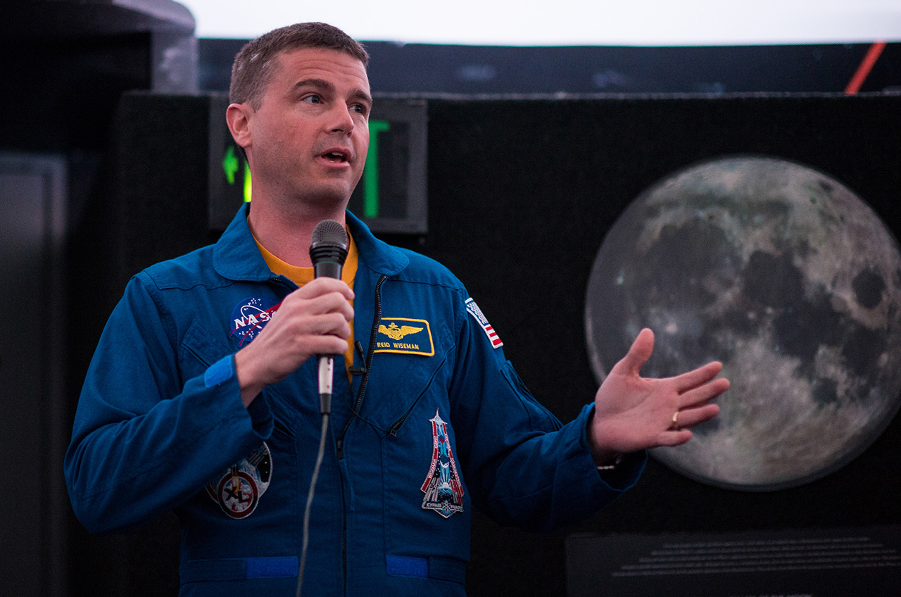 Reid Wiseman named new chief astronaut at NASA for 'exciting times to come'