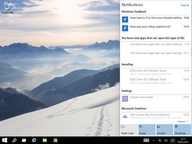 As they develop, Notifications will prove incredibly useful in Windows 10