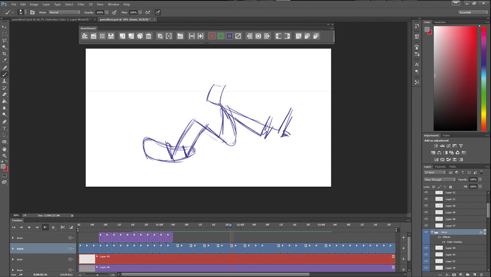 Animate a character with these 4 top tips - Keyframing and fitting