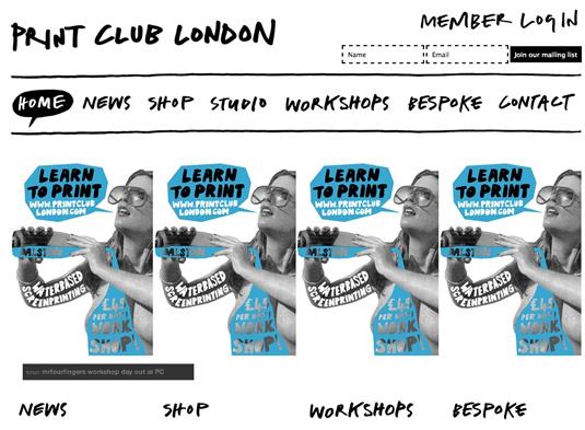 Screen printing: Print Club
