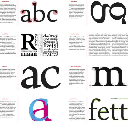 Many classical principles, such as those of type design, hold true online