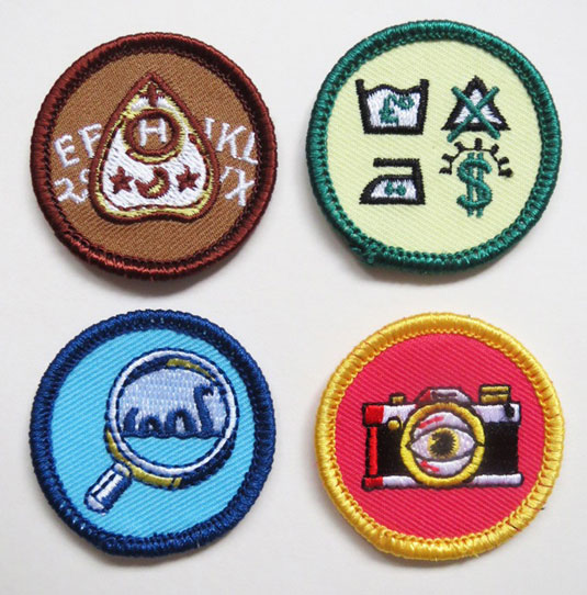 Twisted scout badges set 3