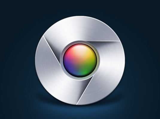 Gianluca Divisi Google Chrome logo redesign