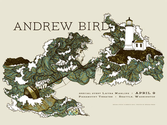 Gig Posters: Andrew Bird