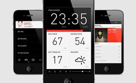 UI design: Meter.Me