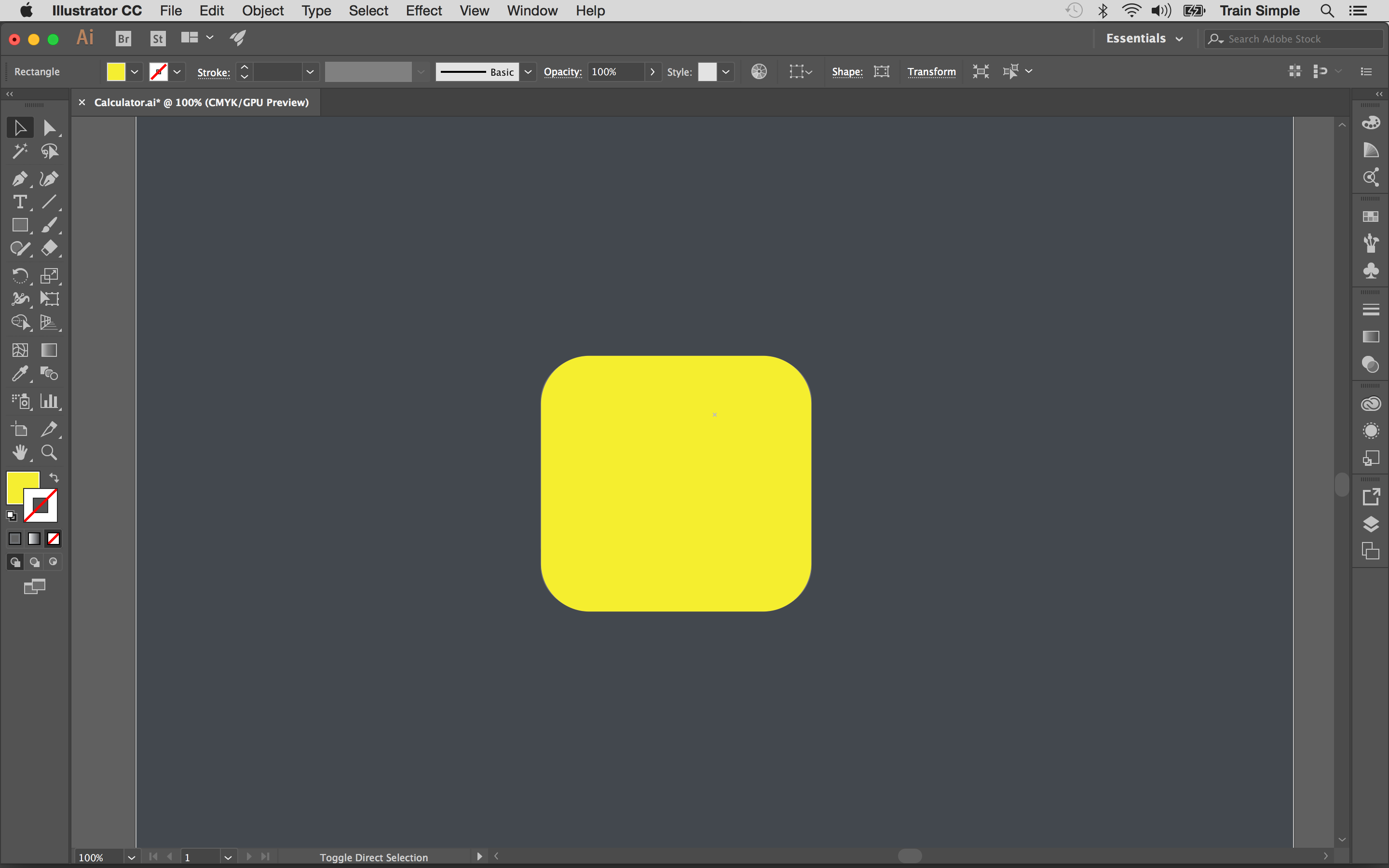 To Apply Subtle Gradient Over The Base, Draw A Rectangle Covering The  Entire 3d Shape Using Any Fill Color Now Convert It Into A Rounded  Rectangle With