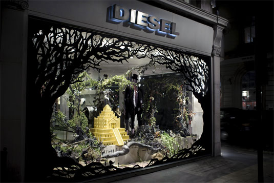16 wonderful window display designs creative bloq for Creative window designs
