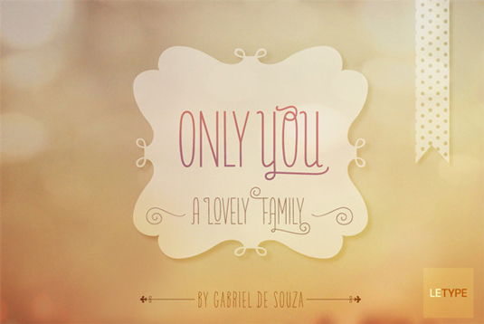 Font: Only You
