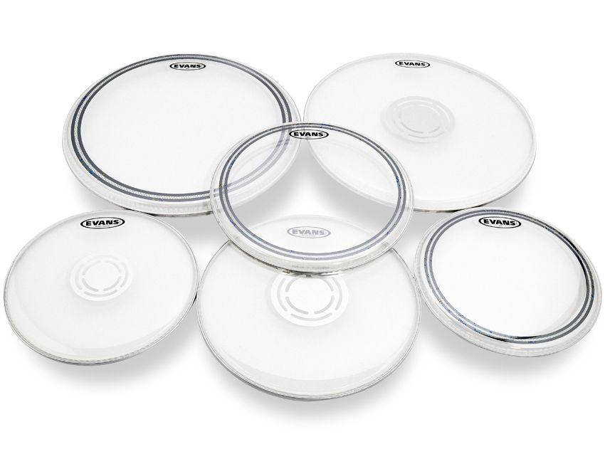 evans ec2 sst and power center drum heads review musicradar. Black Bedroom Furniture Sets. Home Design Ideas