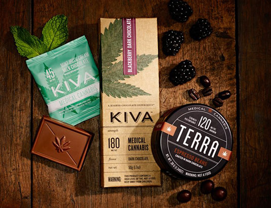 Cannabis branding: Kiva Confections
