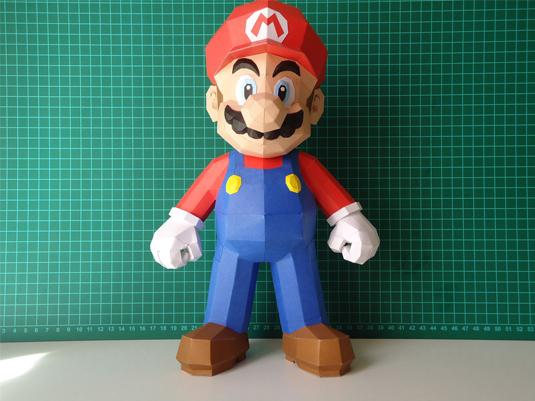 Pepakura Mario