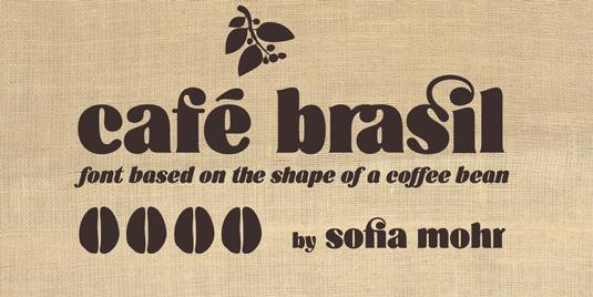 Cafe Brasil font