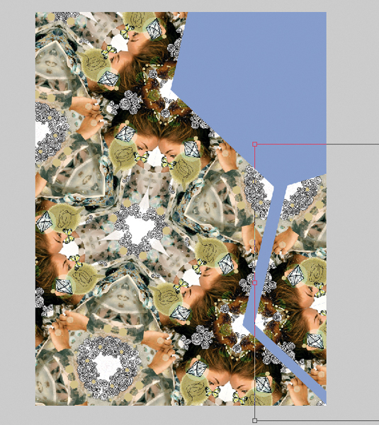 Kaleidoscopic collage 15