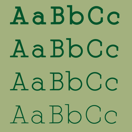 Free font: Martell