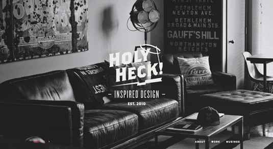 Web design portfolios - Bethany Heck