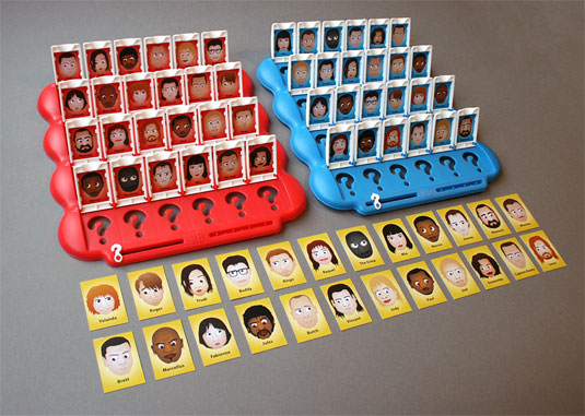 Pulp Fiction Guess Who?