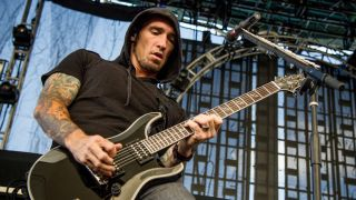Clint Lowery talks about his first guitar his first big gig and he first solo he totally nailed