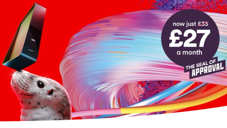 Virgin flash sale: super fast fibre broadband deals for an effective £22.83 a month