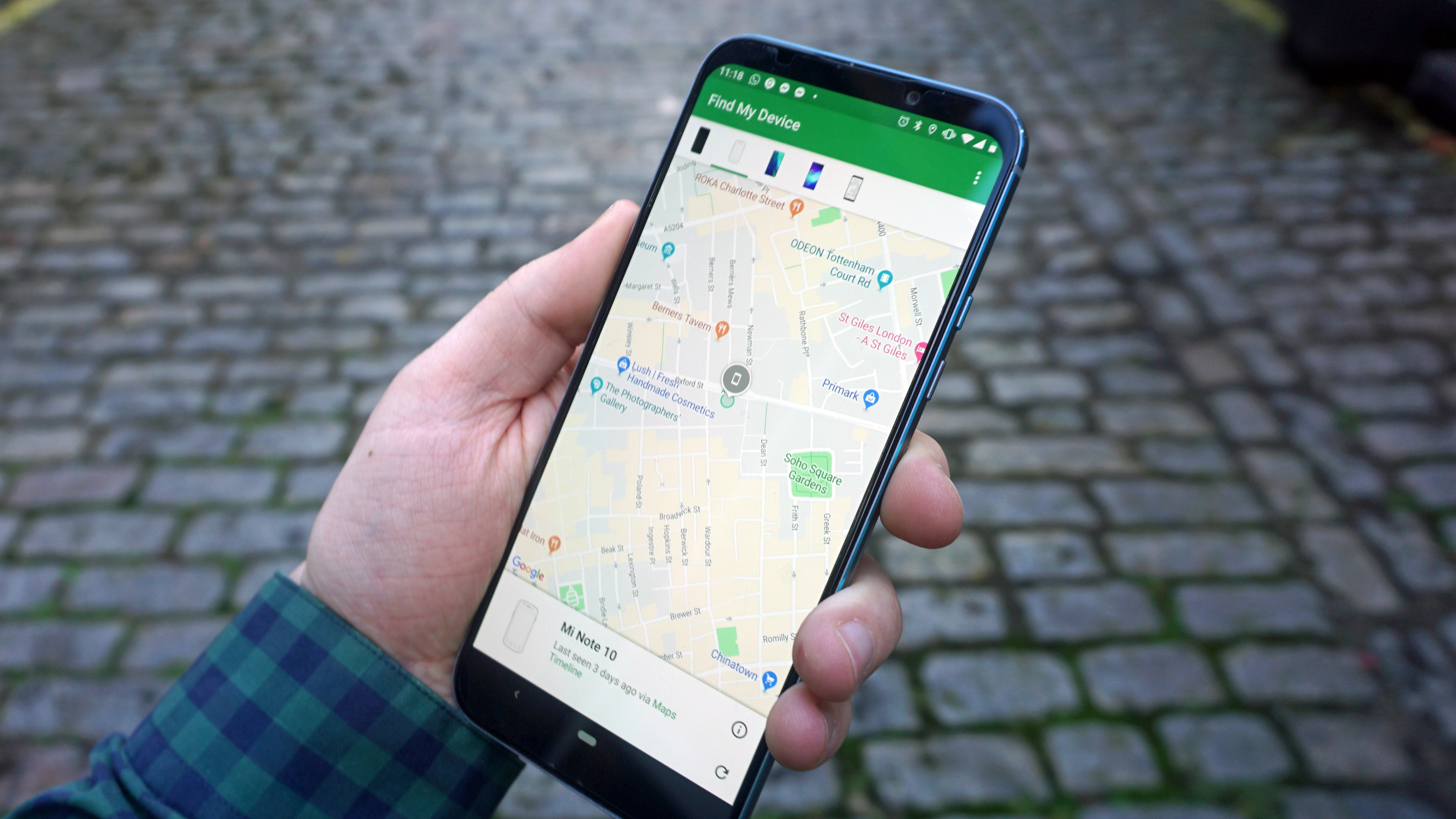 My smartphone was stolen, but Google's Find My Device helped me get it back