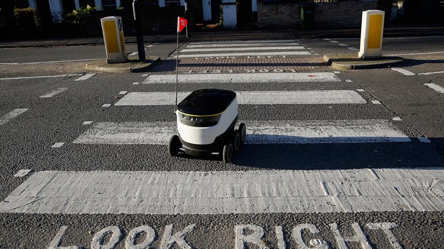 robot kurye