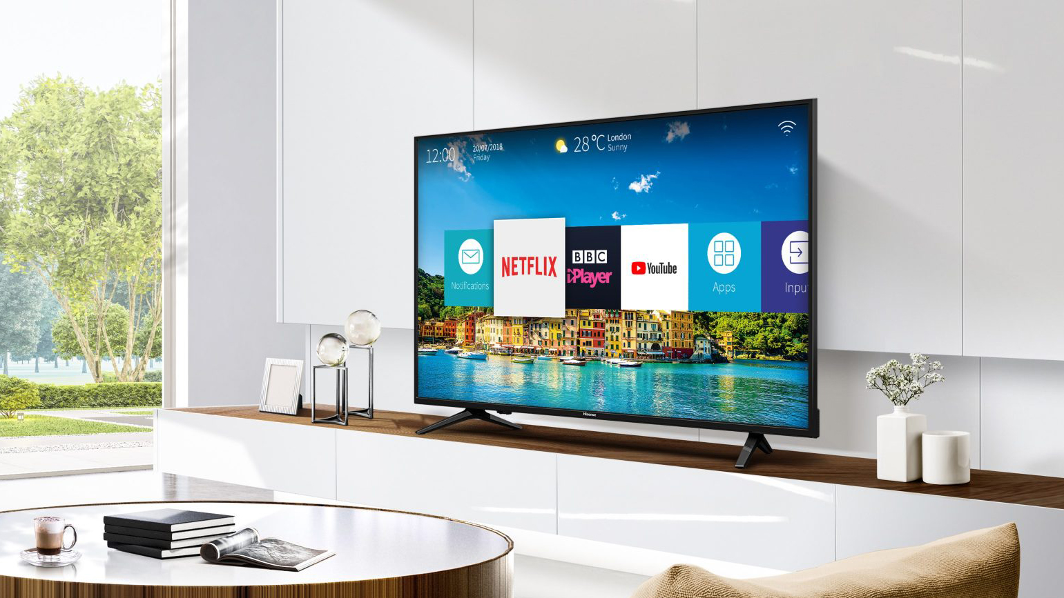 Hisense H50A6200UK best TV under £500