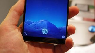In-screen fingerprint sensor