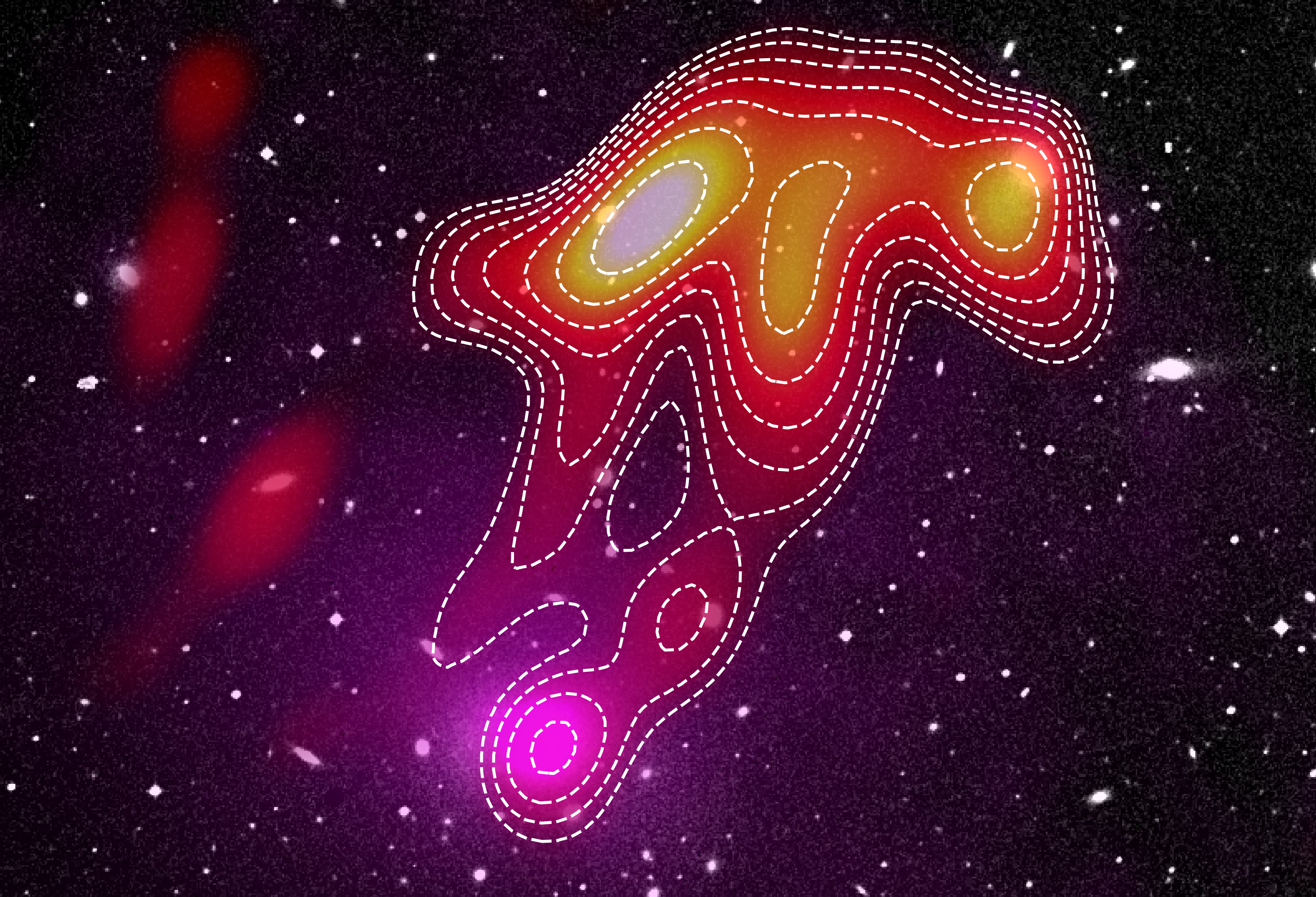Astronomers see a ghostly 'radio jellyfish' rise from the useless within the southern sky 9PDLxYUyDLW5JcGsa63rd9