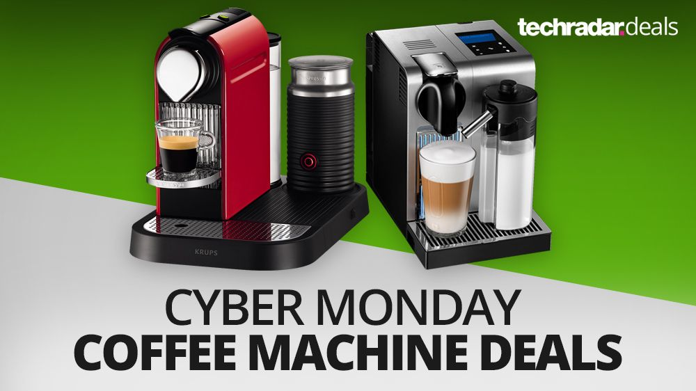 the best coffee machine deals on cyber monday 2016 techradar. Black Bedroom Furniture Sets. Home Design Ideas