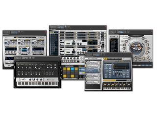 The Pro Tools Instrument Expansion Pack contains five plug ins