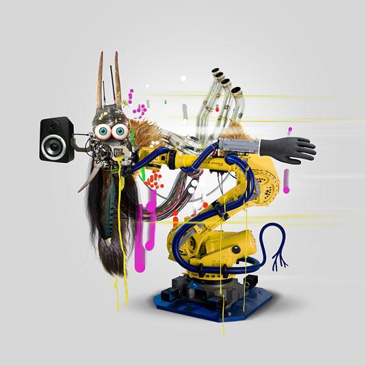 Organic robots, Genevieve Gauckler