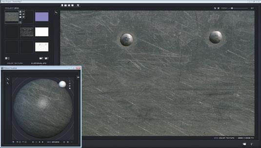 Hard surface texturing
