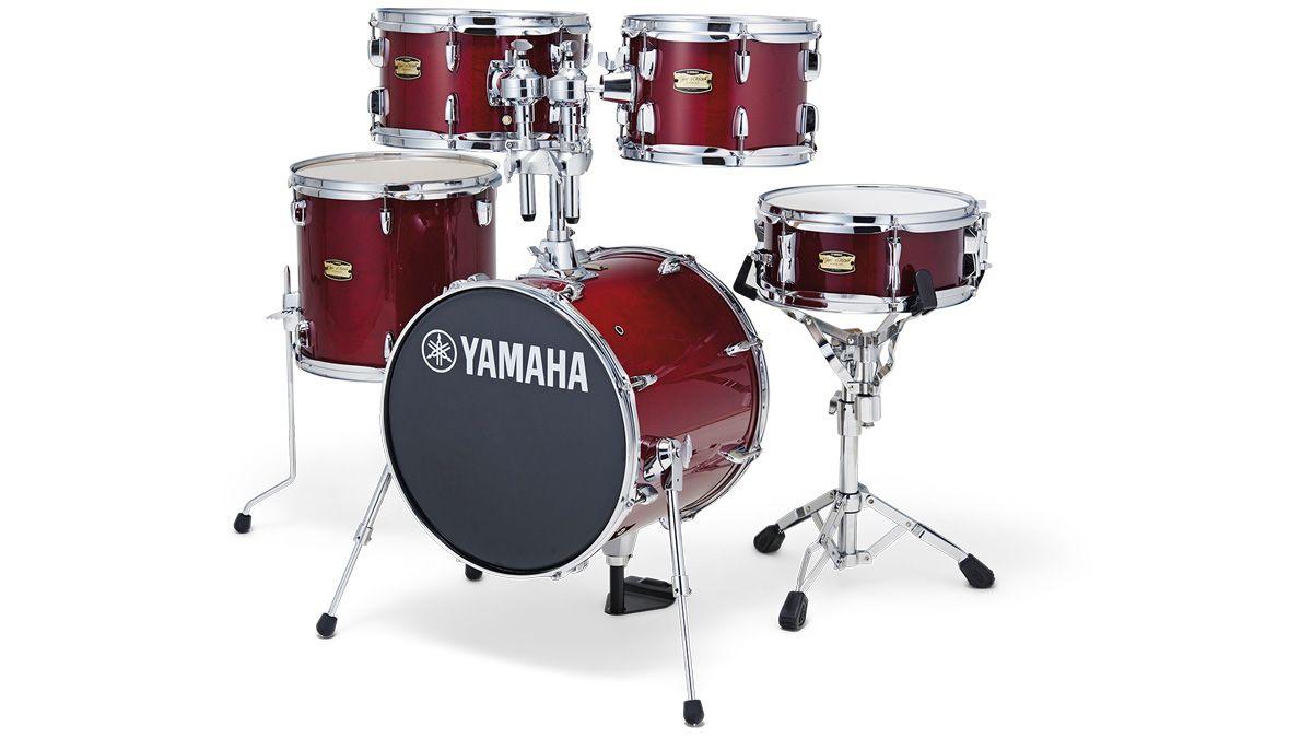 Yamaha manu katche junior kit review musicradar for Yamaha portable drums