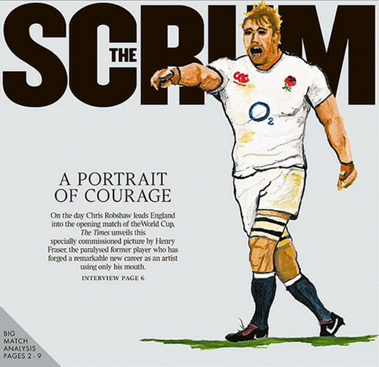 Rugby The Scrum cover