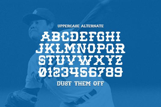 Free font: Wild Pitch