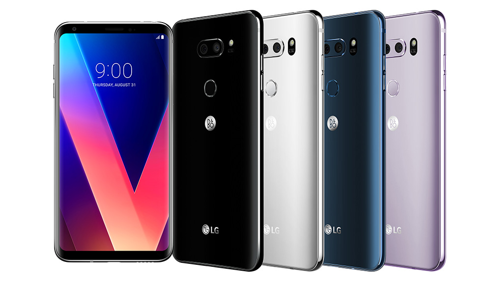 LG finally brings the V30 to the Middle East