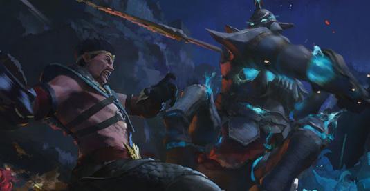 KD Stanton League of Legends Concept step 3